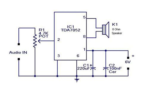 audio lifier circuit diagram with layout gt mini audio lifier circuit today s circuits