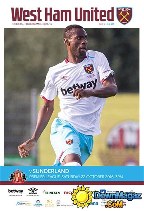 west ham united quiz book 2017 18 edition books west ham united vs sunderland 22 october 2016 187