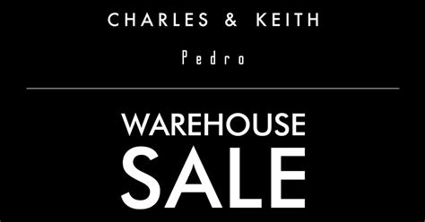 Boomsale Charles Keith charles keith x pedro warehouse sale returns on june 2