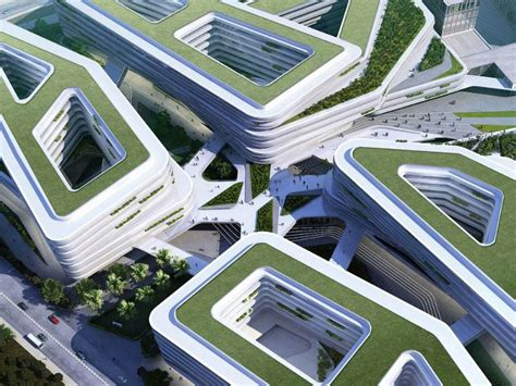 unstudio designs green roofed cus for singapore