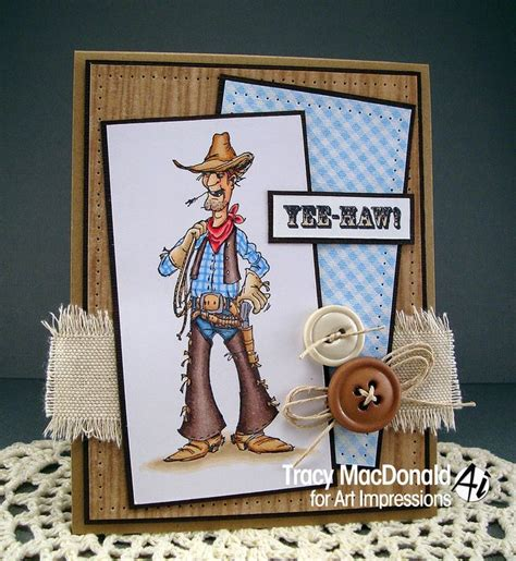 Handmade Cowboy - slim sku k1686 from impressions ai golden oldies