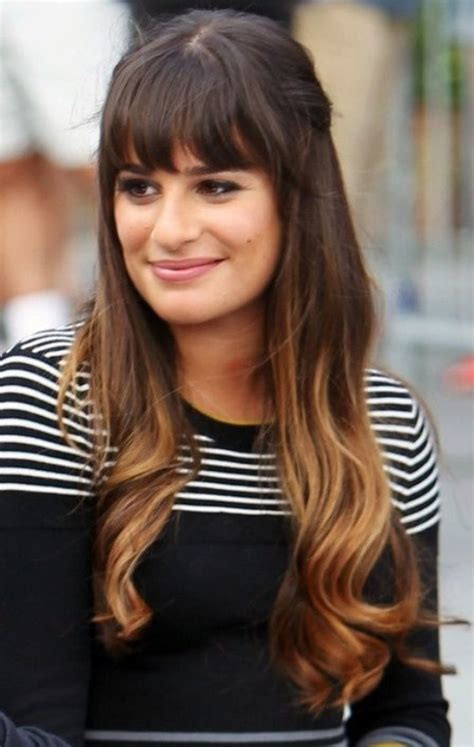 long wavy brown ombre hairstyle for women 2014 pretty long ombre hair with bangs hairstyles weekly