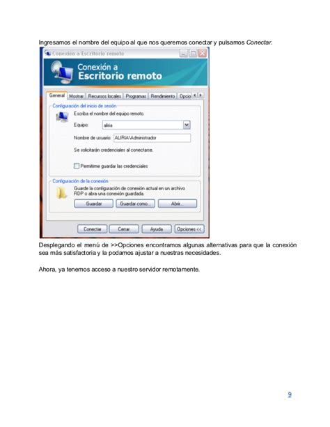 escritorio remoto windows server 2008 servicio escritorio remoto en windows server 2008
