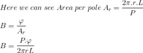 dc motor equations torque equation of dc motor