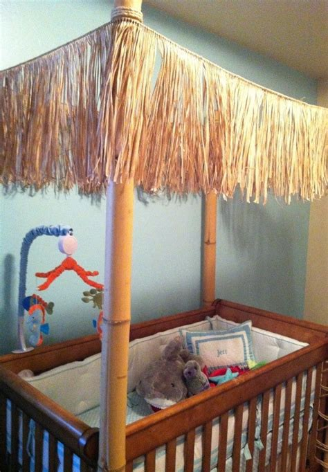 Crib Hut by Crib Tiki Hut I Made For Jett S Room Bamboo To Ends