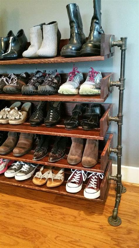 Wood Shoe Rack For Closet by Best 25 Shoes Stand Ideas On Shoe Organizer