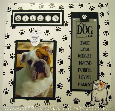 scrapbook layout ideas for pets dog scrapbook page ideas layout for the first page