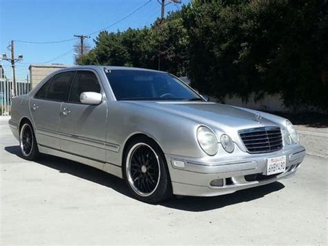 purchase used 2001 mercedes e430 silver car 8