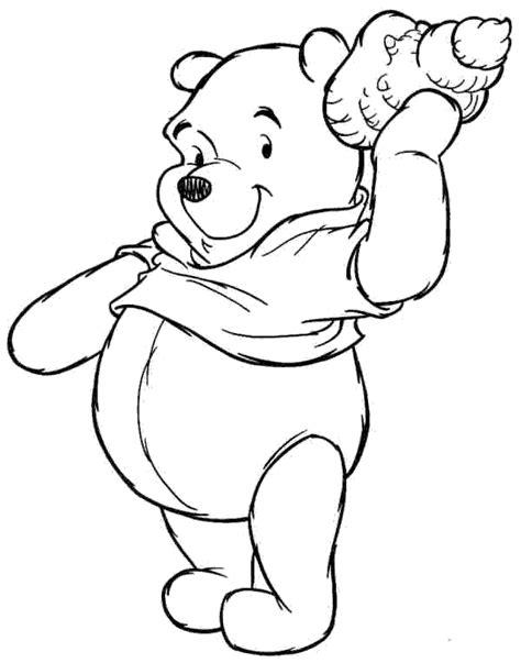 Sancu Winie The Pooh 36 38 disegni per bambini da stare e colorare winnie the
