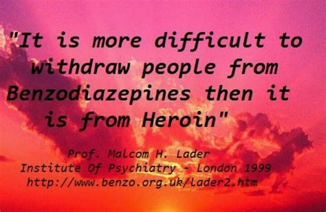 Detoxing From Xanax Cold Turkey by Www Benzo Org Uk Librium Ativan Klonopin Valium Xanax