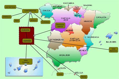 canarias y africa mapa canarias en el mundo