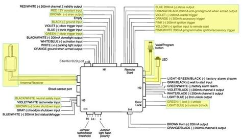 dei remote start wiring diagram wiring diagram and