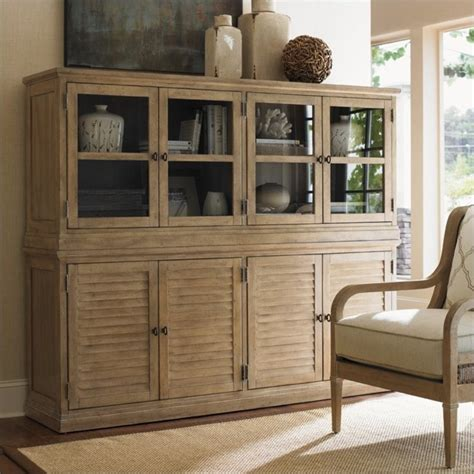 Glass Sideboards by Monterey Sands Sausalito Glass Door Sideboard