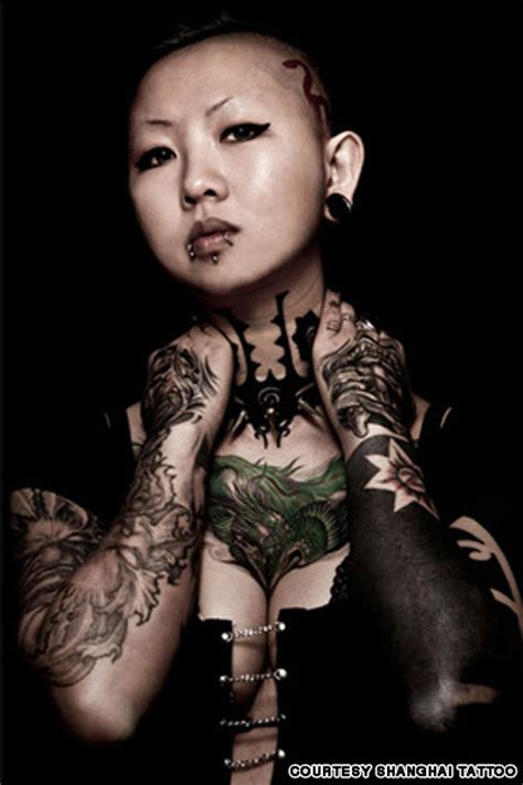 china s first lady of tattoo cnn travel