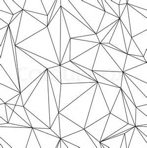abstract seanless geometrical background with triangles