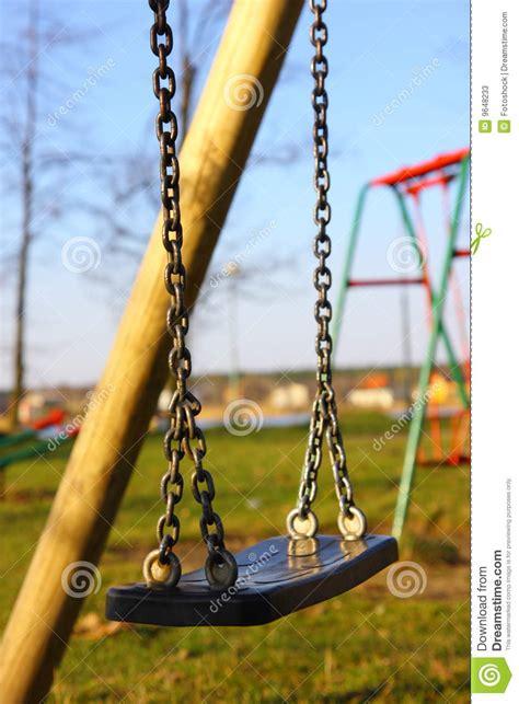 empty swing empty swing stock photos image 9648233
