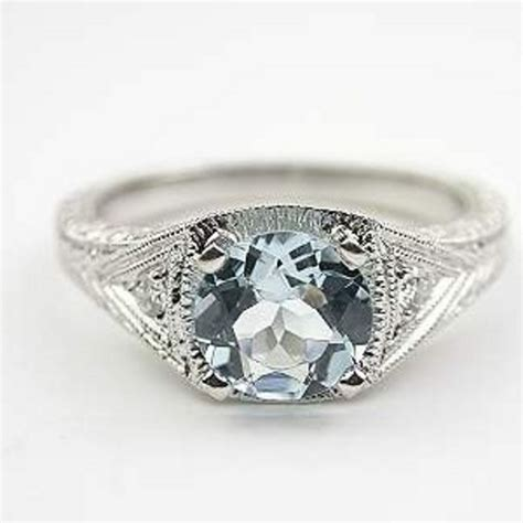 Aquamarine Engagement Rings by 8 Aquamarine Engagement Rings That Give Rings A