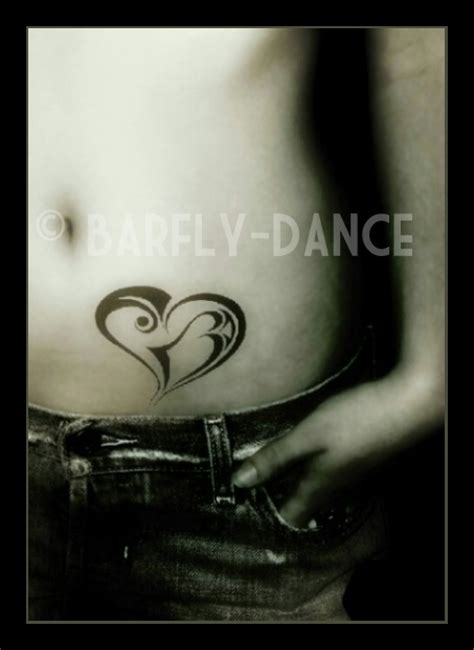 heartbeat dance tattoo tattoo heart by barflydance on deviantart