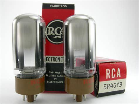 6146 Match Pair Rca rca 5r4gyb matched pair