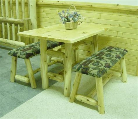 Log Dining Room Furniture Log Artistry Log Dining Room Tables