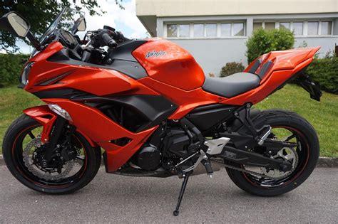 Motorrad Kawasaki Ninja Kaufen by Motorrad Occasion Kaufen Kawasaki Ninja 650 Abs Orange