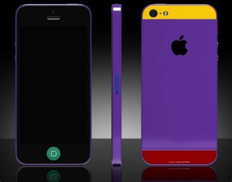 Colorware Spruces Up The Iphone by Your Favorite Colored Colorware Iphone 5 For 1700