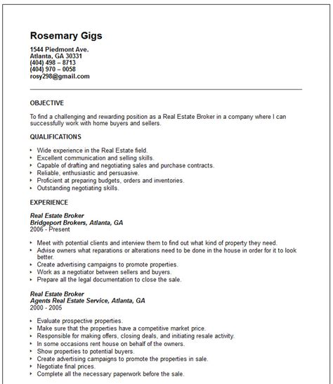 resume customs broker hospitality service resume sample