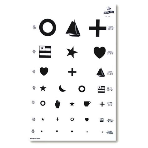 printable eye chart preschool 7 best images of free printable preschool eye charts