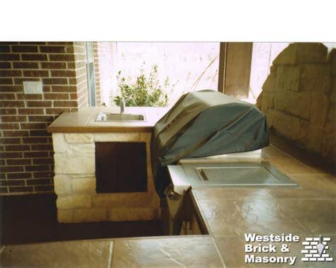 Outdoor Tile Countertop by Outdoor Kitchen Tile Countertop Ideas Images