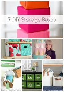 Diy Cardboard Storage Boxes » Home Design 2017