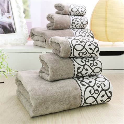 bathroom decorative towels aliexpress com buy 3pcs decorative luxury cotton bath