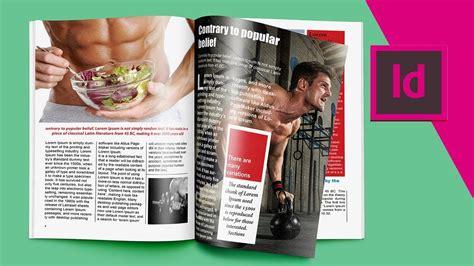 magazine layout indesign cc indesign cc tutorials designing magazine page