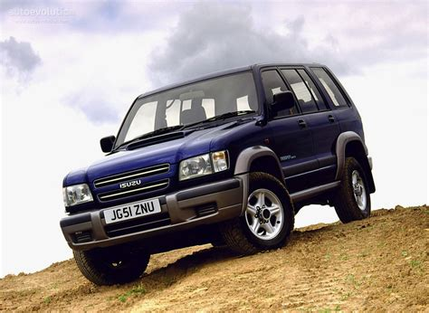 isuzu trooper 5 doors specs 1998 1999 2000 2001 2002 autoevolution