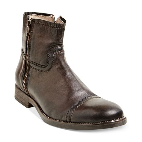 madden boots steve madden forza boots in brown for lyst