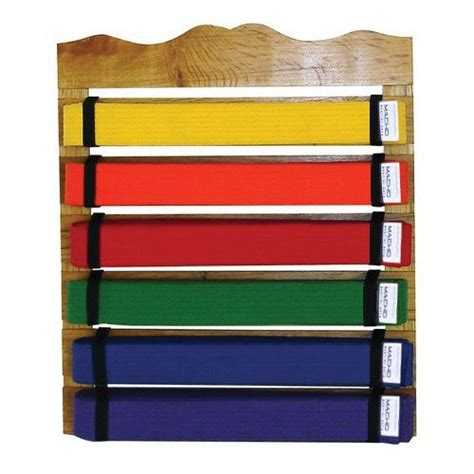 Martial Arts Belt Display Rack by Martial Arts Belt Rack Display
