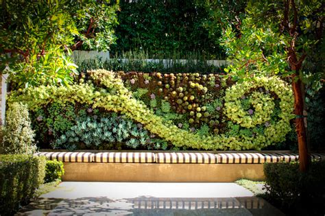 Living Walls Contemporary Landscape Los Angeles By Live Wall Garden