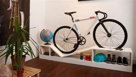 Bike Storage For Small Apartments | chol 1 bike storage furniture is must have for small