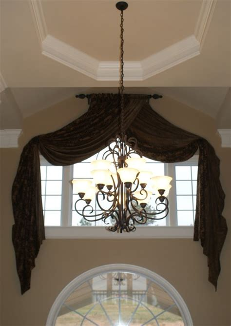 Foyer Window Curtains Window Treatments Traditional Curtains Atlanta By Norwood Interior Designs