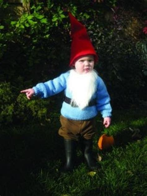 Garden Gnome Baby Costume by The Mermaid And The Astronaut Grand Garden Gnome Costume