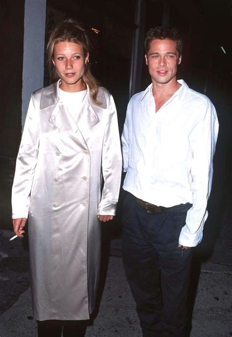claire forlani and brad pitt relationship the gwyneth paltrow look book coats brad pitt and