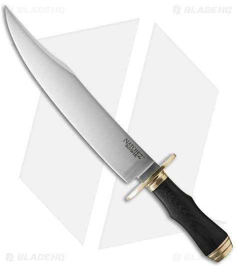 cold steel bowie knife cold steel natchez bowie knife fixed blade 11 75 quot satin