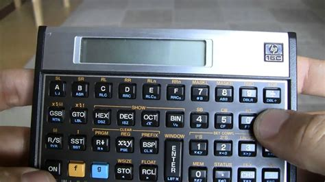 hp  computer engineering calculator  youtube