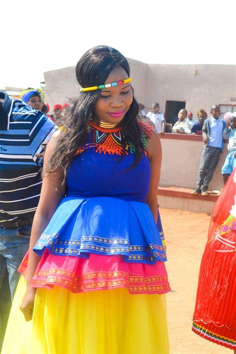 pedi traditional dress a precious pedi wedding in limpopo style decor