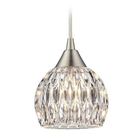 bathroom mini pendant lights crystal mini pendant light with clear glass