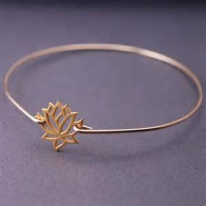 Gold Lotus Bracelet 25 Best Ideas About Lotus Jewelry On
