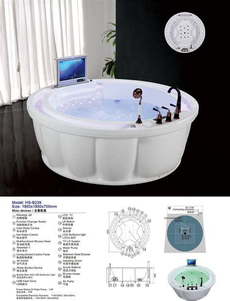 Bathtub Wholesale by Hs B239 Clear Acrylic Bathtub Dimensions Freestanding Tubs