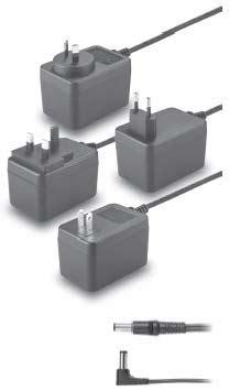tr  output voltage    optional dc plug