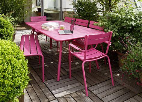 mobilier jardin fermob fermob la chaise de jardin universelle
