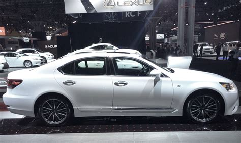 shortest cars in length for 2014 2014 lexus ls short wheelbase at the 2014 new york auto