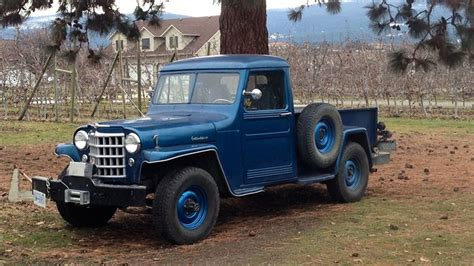 jeep truck find of the week 1951 willys jeep truck autotrader ca